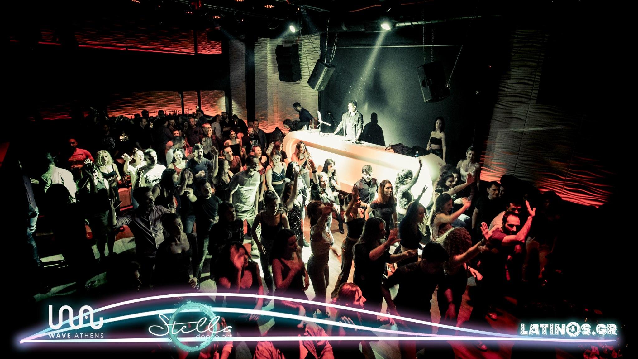 Salsa Sundays @ Wave Athens