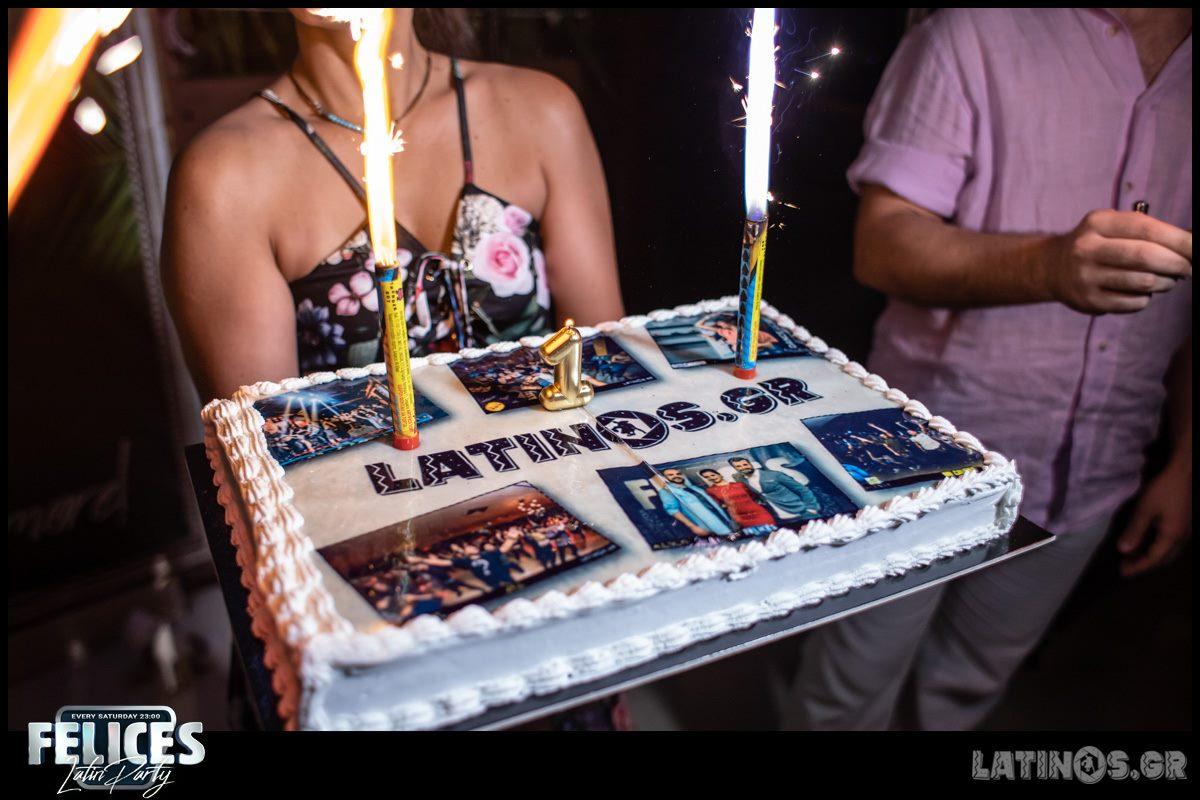 Latinos Birthday @ Felices Latin Party