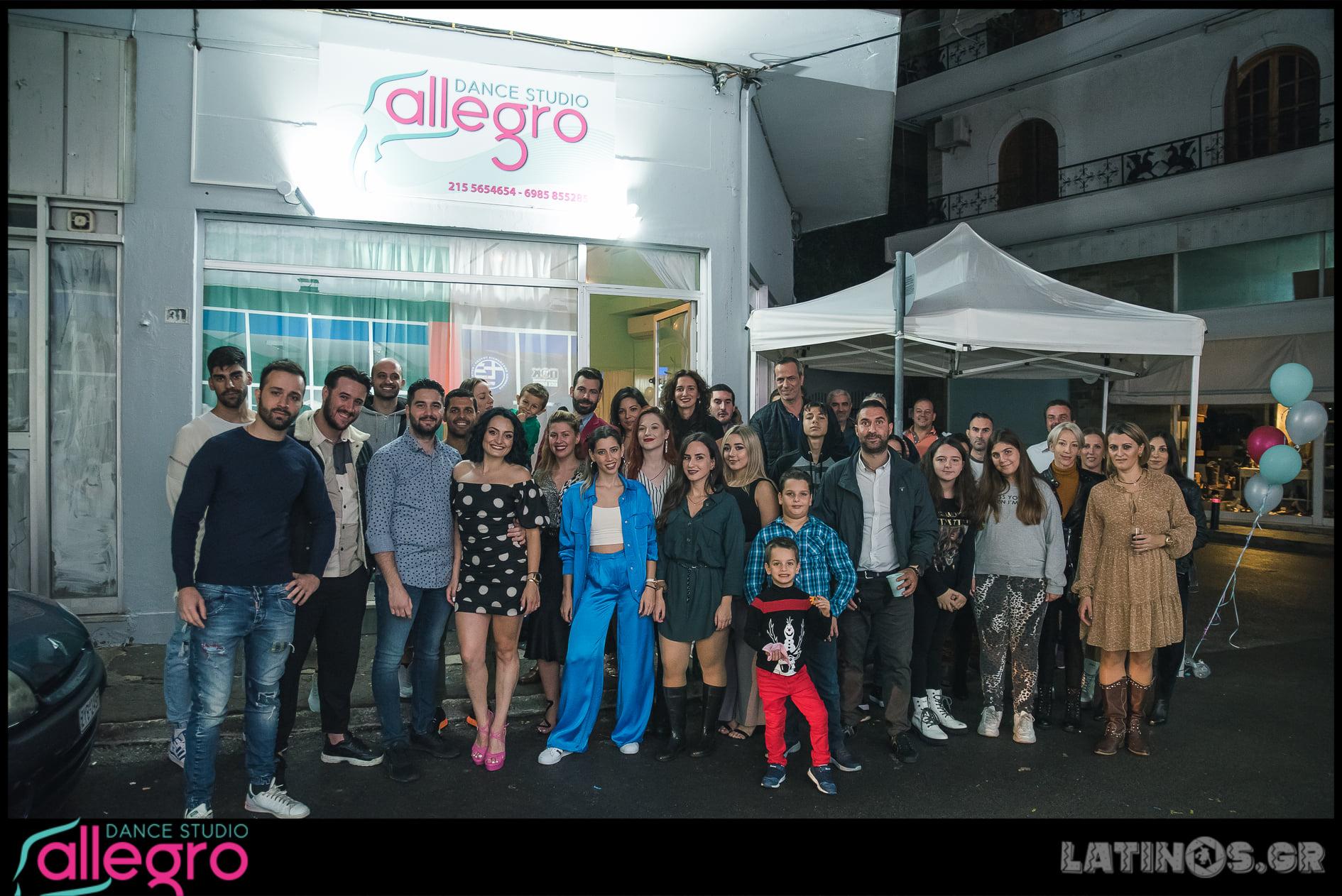 Εγκαίνια @Allegro Dance Studio